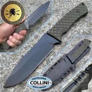 Spartan Blades - Damysus Green - Professional Grade - SBSL003BKGR - Knife
