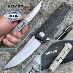 Boker Plus - Kwaiken Compact Flipper Marble Carbon by Lucas Burnley - 01BO231 - knife