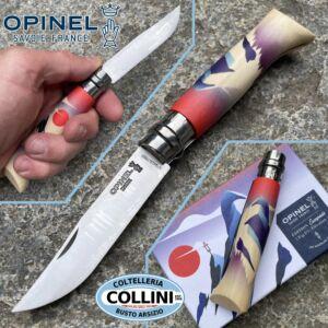 Opinel - N°08 - Elevation - Edition Escapade by Jeremy Groshens - Knife