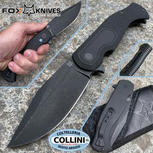 Fox - Eastwood Tiger by Gudy Van Poppel - Black G10 - FX-524B - knife