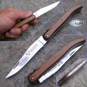 Laguiole En Aubrac - brown leather - traditional knife