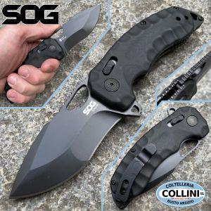 SOG - Kiku XR Blackout knife - CTS XHP - 01SG128 - Knife