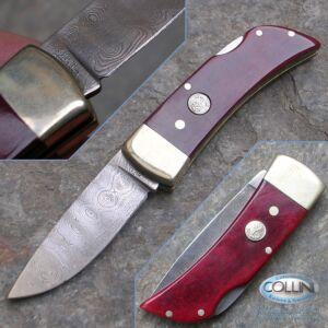 Boker - chiudibile Damasco legno di rosa - coltello