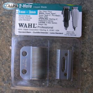 Wahl - Testina di ricambio 1mm - 3, 5 mm per tosatrice Super Taper - Pro Basic - Taper 2000- 01006-416