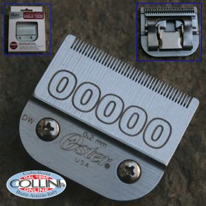 Oster - Cutting Head # 00000 - 0.2 mm - for A5 and 97- 44