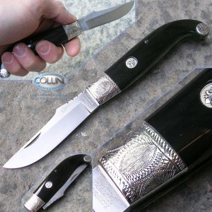 Consigli Scarperia - Fiorentino Buffalo Silver Engraved R-FIB20A - knife