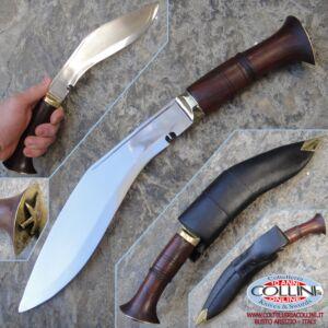 Kukri Artigianale - Nepal Police 008 manico legno - coltello
