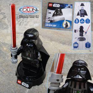LEGO Star Wars - Lampada da tavolo LED di Darth Vader - torcia a led