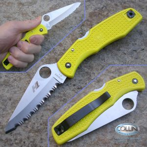 Spyderco - Pacific Salt Yellow - C91SYL - coltello
