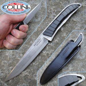Mcusta Japan - Fixed Damascus and Micarta - 61D - knife