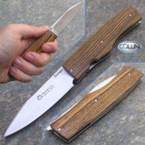 Maserin - Starlight Folder Bocote - Design by Puddu - 392/BO coltello