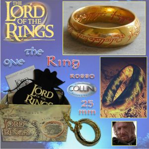 Lord of the Rings - Ring of Power inc.  Red 25mm 99.01 - The Lord of the Rings