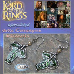 Lord of the Rings - Orecchini Foglia Elfica 702.50 - Il Signore degli Anelli