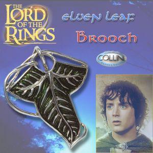 Lord of the Rings - Spilla foglia Elfica Compagnia dell'Anello 700.75 - Il Signore degli Anelli