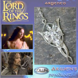 Lord of the Rings - Ciondolo di Arwen R230 - Argento 925