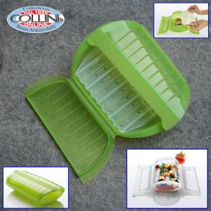 Lékué - Steam Case With Draining Tray 3-4P