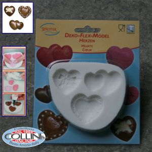 Städter - 3D heart silicone mold