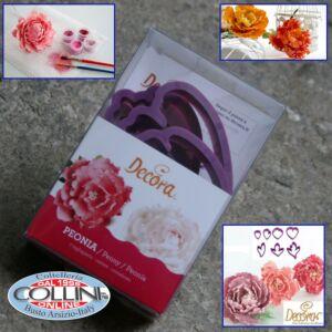Decora - Kit Peonia per fiori in pasta di zucchero