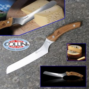 Maserin - Montasio cheese knife  - 2020/OL - olive handle