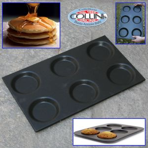 Paderno - Teglia antiaderente professionale per pan cake