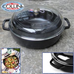 Staub  - 4-quart Universal Pans with Domed Glass Lid
