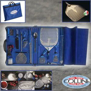 Made in Italy - Pizzaiolo Travel Set - Suitcase Kit for professional pizza maker