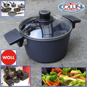 Woll - Diamond Lite  20 cm Pot with lid and 2 handles - induction