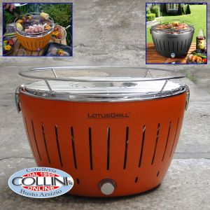 LotusGrill - The smokeless charcoal grill