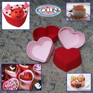 Birkmann - Heart shaped baking molds