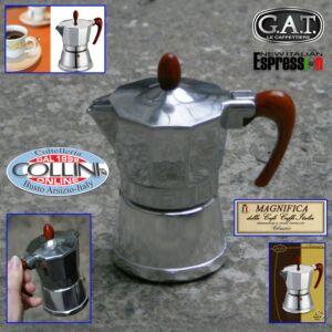 G.A.T. - Caffettiera in  alluminio - Moka Magnifica - 1 tz