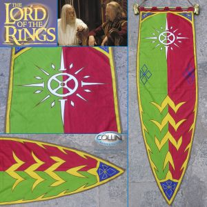 Flags - Lord of the Rings - Green/Red Banner of Rohan - Il Signore degli Anelli