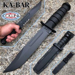 Ka-Bar - Black Fighting Knife - 02-1214 - Kydex Sheath - knife
