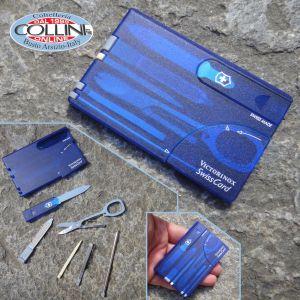 Victorinox - SwissCard Translucent Blue - coltello multiuso
