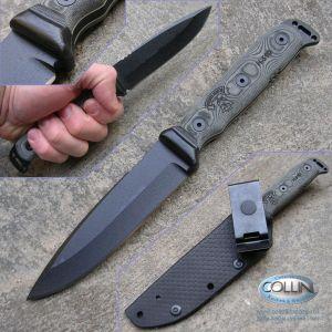 Tops - Mohawk Hunter - Plain Black - coltello