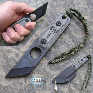 Tops - ALRT Anywhere Last Resort Tool XL - 03 Tanto Plain Black coltello