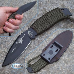 Tops - Cheetah Skeleton Black coltello