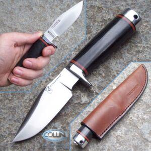 BlackJack - Mini Trailguide - Black Micarta - coltello