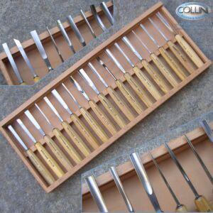 Pfeil - Sgorbie da legno professionali - Set 18 pezzi - D18