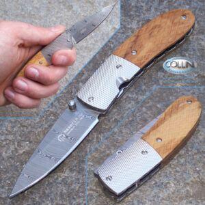 Maserin - Easy Damasco ed Olivo by Attilio Morotti - 385/DO coltello