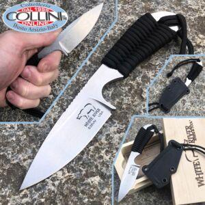 White River Knife & Tool - M1 Backpacker knife - Black Paracord - knife