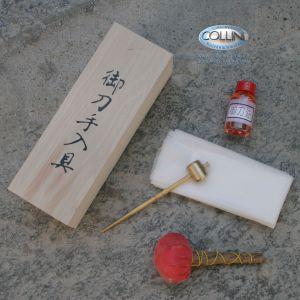 Kit Manutenzione e Pulizia Katana e Wakizashi - Accessori Spada Giapponese