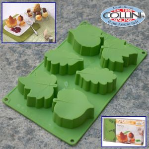 Birkmann - Nature silicone mold - 6 leaves