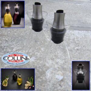 Cole & Mason - Flow Select Oil & Vinegar Bottle Gift Set 37cl
