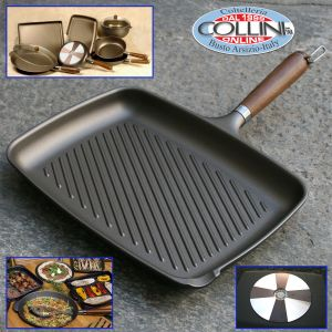 Julienne - Nonstick grill for induction cm. 26 x 34 cm