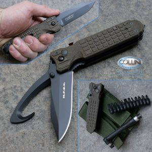 Fox - FKMD - M.P.S.K. Rescue Utility Nato Green - FX-444/2ROD - coltello
