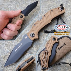 Pohl Force - Bravo Two Tanto Plain Edge - Desert Version 1030 - coltello