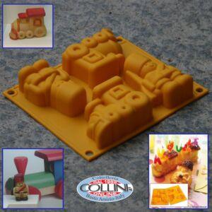 Silikomart -  Babyline Happy toys - pasticceria