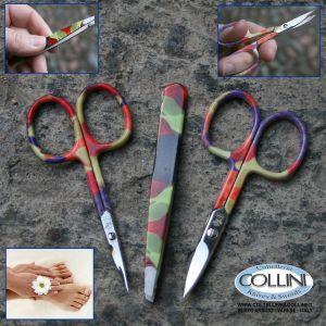 Robur - Set 3 pezzi manicure e pedicure colorato