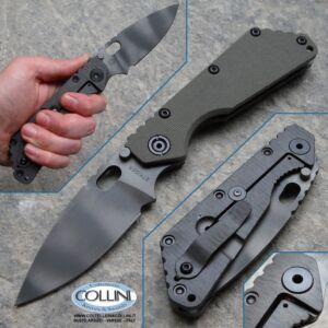 Strider Knives - SMF S Special Mission Green G10 - coltello