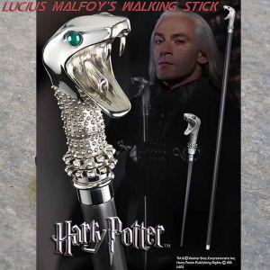 Harry Potter - Bacchetta Magica di Lucius Malfoy - Bastone da Passeggio NN7639